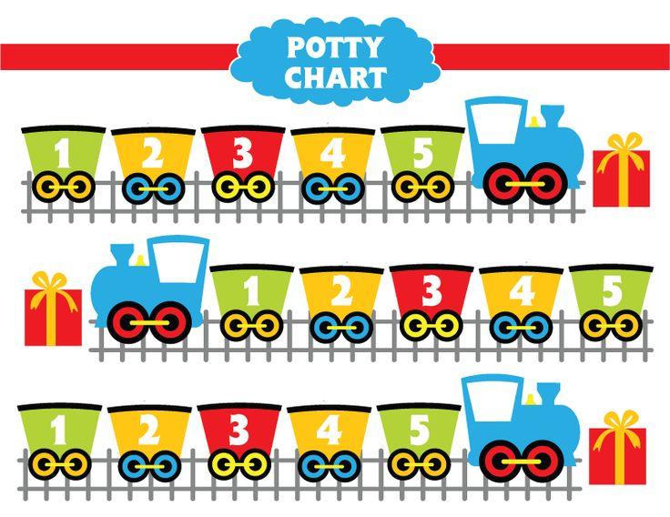 Disney Princess Potty Chart