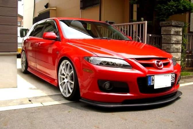Red Lip Black Racing Rims