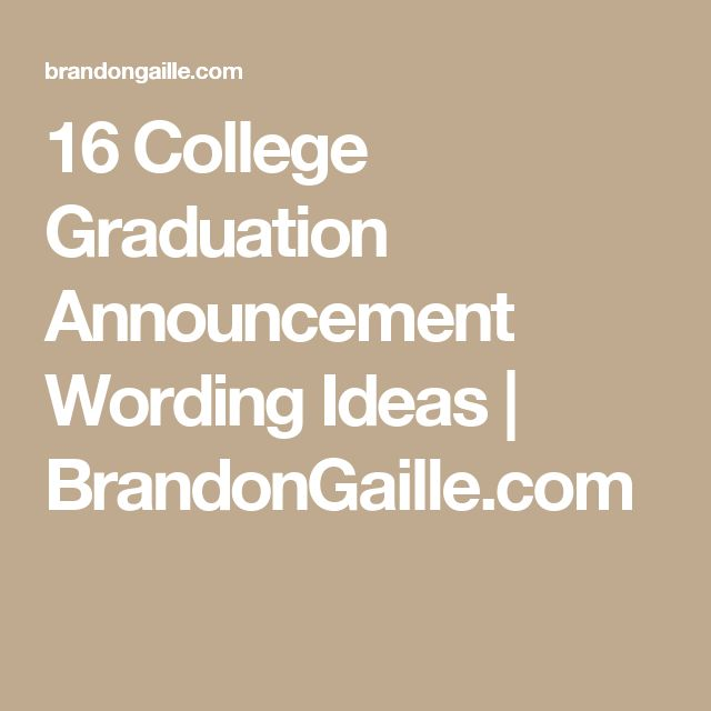 Cheap Grad Invites