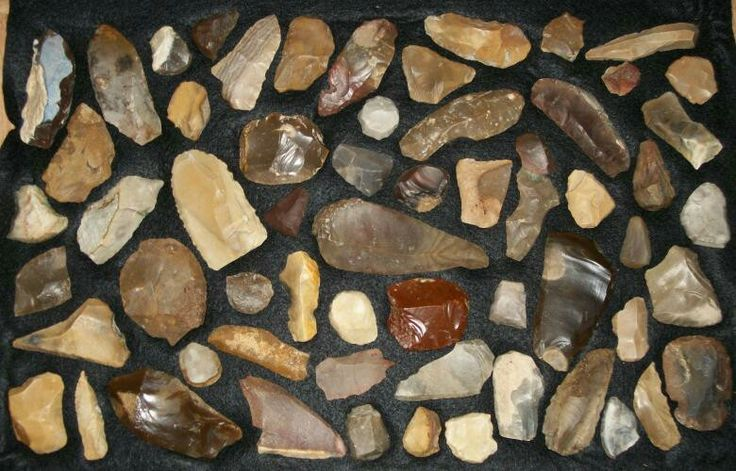 Ancient Native American Stone Tools