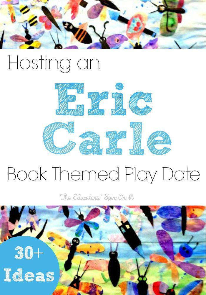 Eric Carle Books Manipulatives