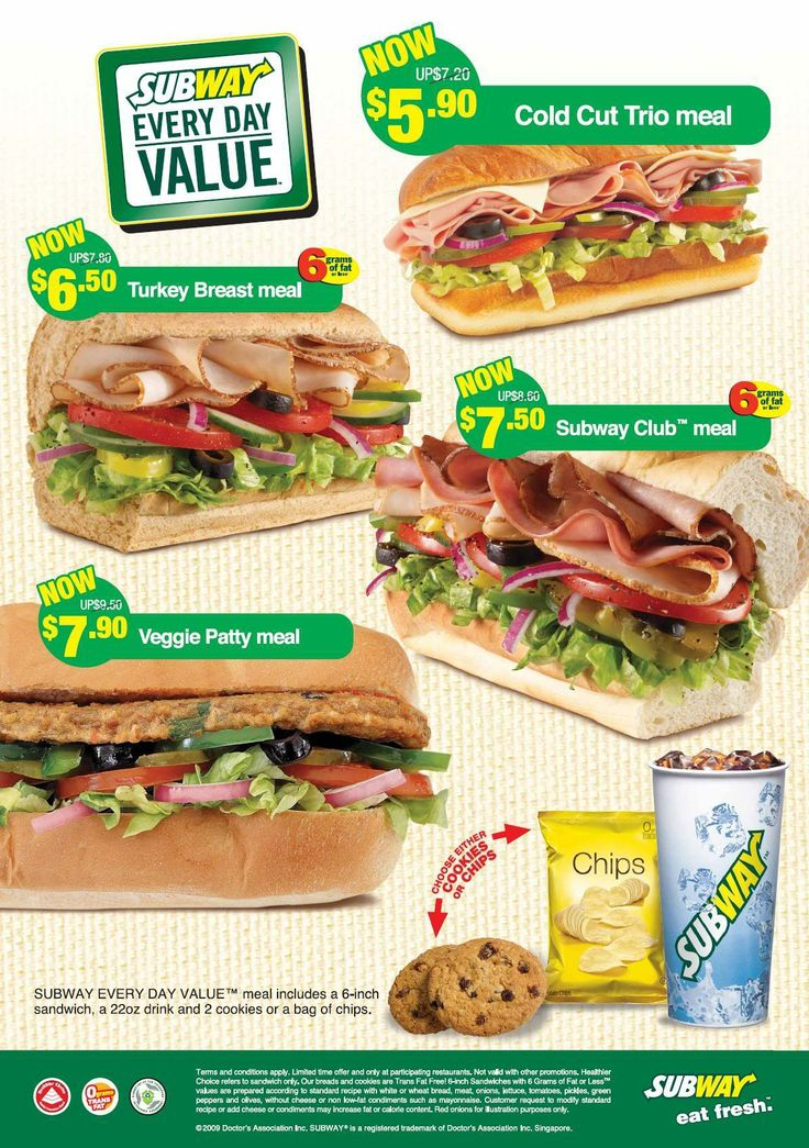 What Fresh Value Meal