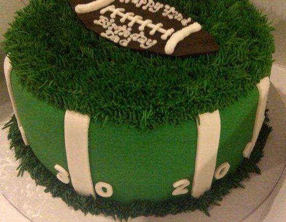 Texans Grooms Cake