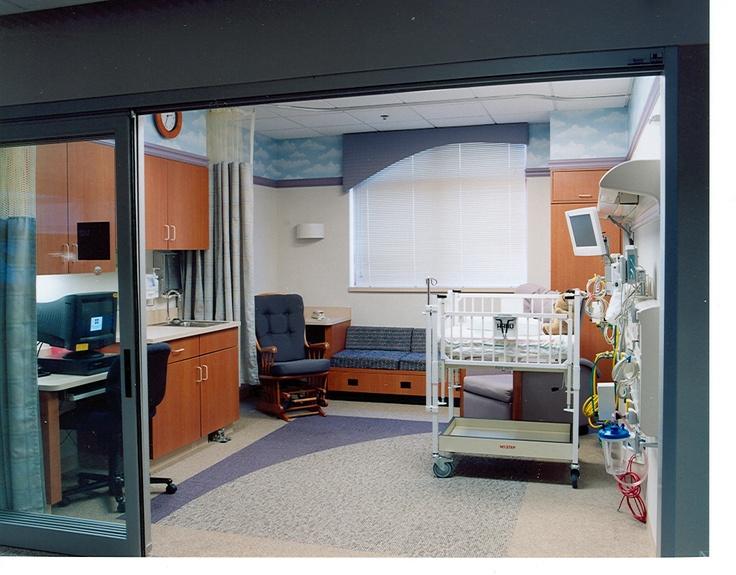 A Private Newborn Neonatal Intensive Care Unit Room