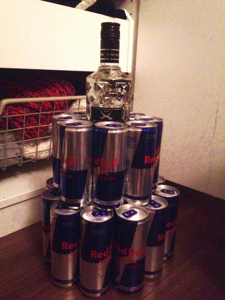Energy Wodka Dosen Torte 24 Energy Dosen Amp 1 Flasche
