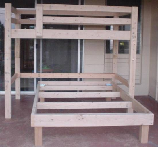 Build Full Size Bunk Bed Woodworking Projects Amp Plans