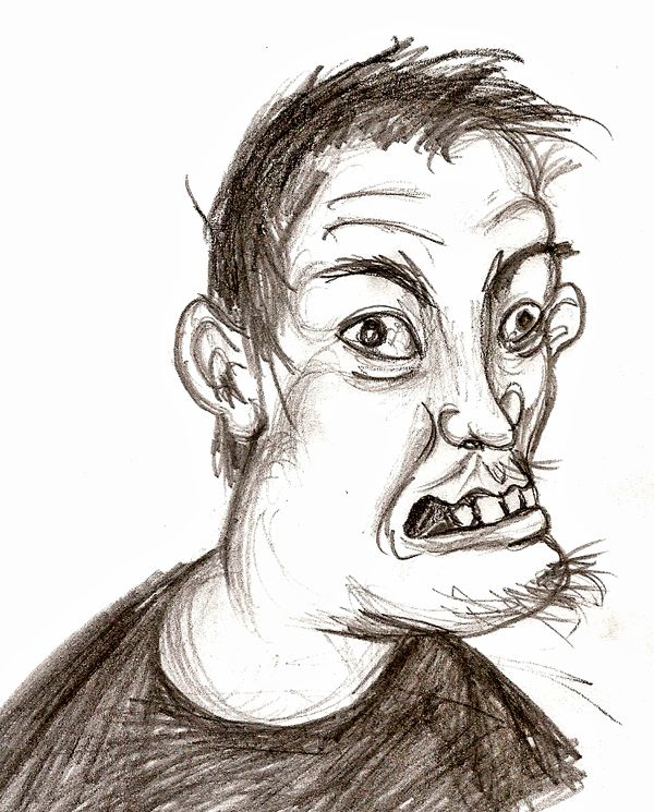 15 best images about Ugly Faces I Draw on Pinterest | Ugly ...