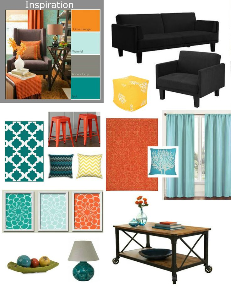 Teal Print Accent Chairs