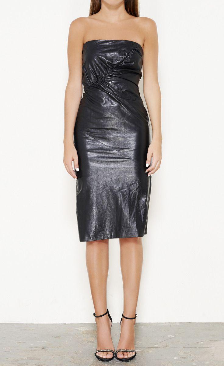 Black Pinterest Trash Bag Dress
