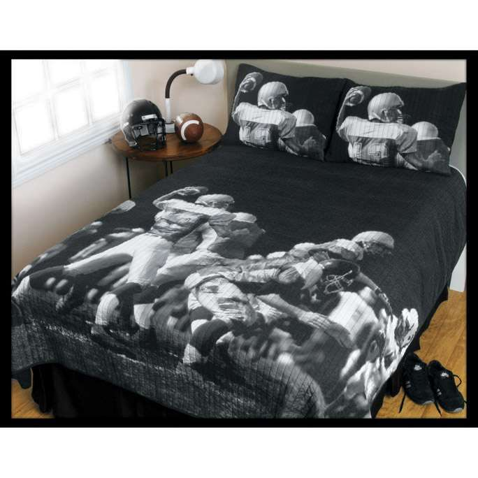 Patriots Themed Bedroom