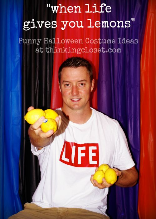 Puns Or Word Play Halloween Costumes Based