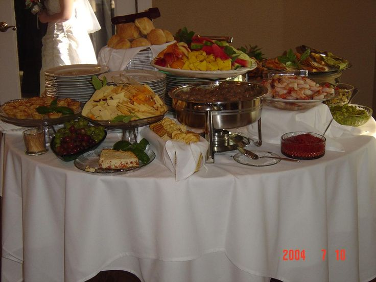 Easy Wedding Buffet Ideas