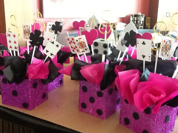Table Decoration Ideas 50th Birthday Party