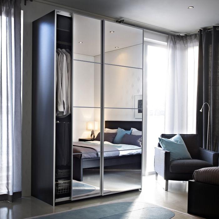 Armoire 2 Portes Coulissantes Miroir