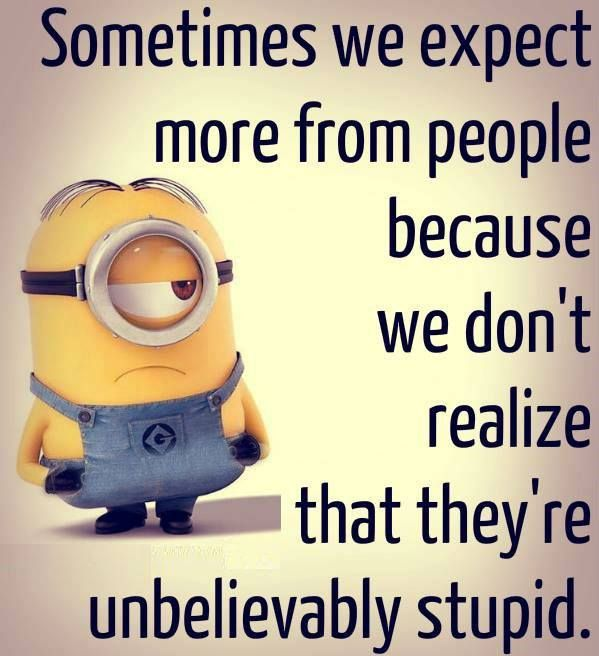 Nosey Quotes Minion People About