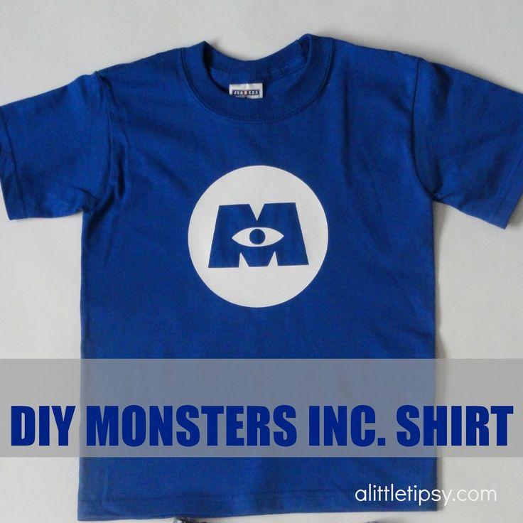 monsters inc shirt ideas