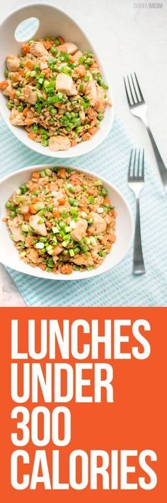 Lunch Menu Under 300 Calories