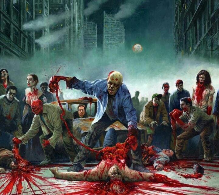 4 Dead Zombie Horde Left