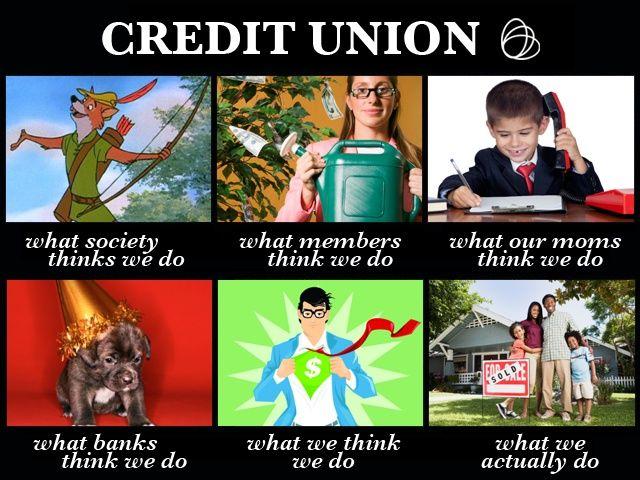 Credit Union Teller Humor