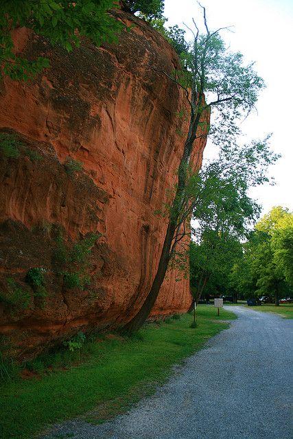Red Rock Canyon Hinton Ok