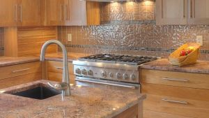 Traditional Kitchen Multi Level Island Design, Raised Bar