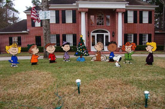 Halloween Yard Brown Decorations Charlie