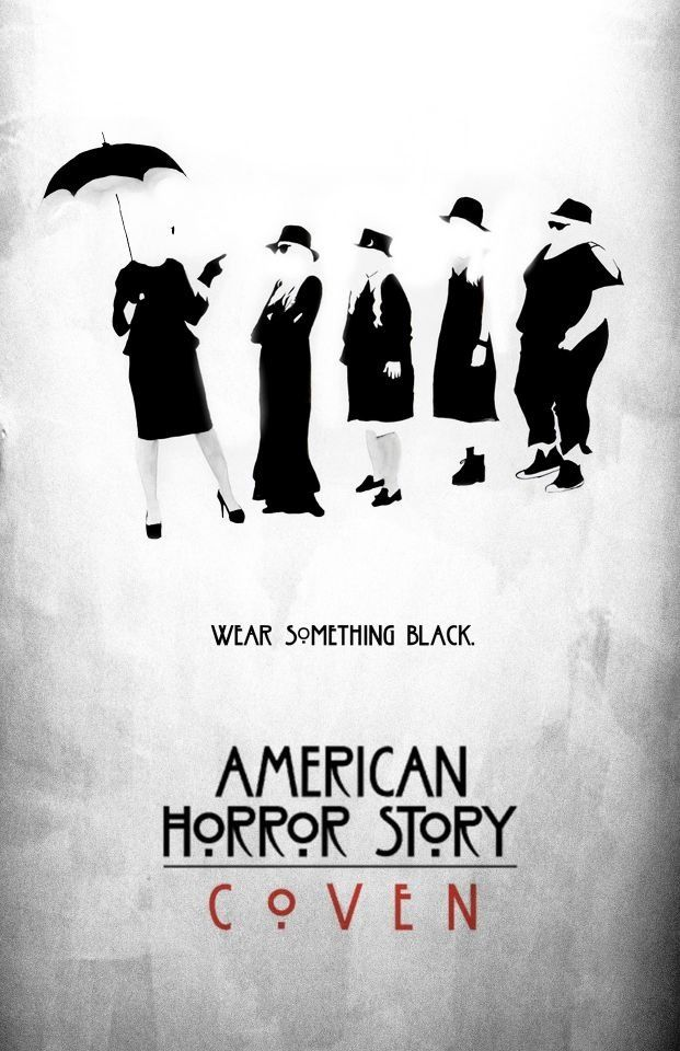 American Horror Coven Umbrellas