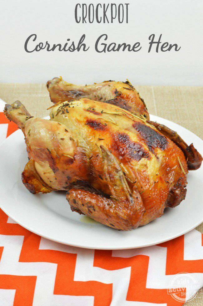 Cornish Hen Crock Recipes Pot