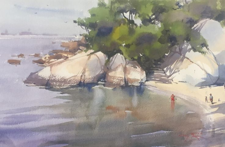 Watercolour Artist Richard Taylor