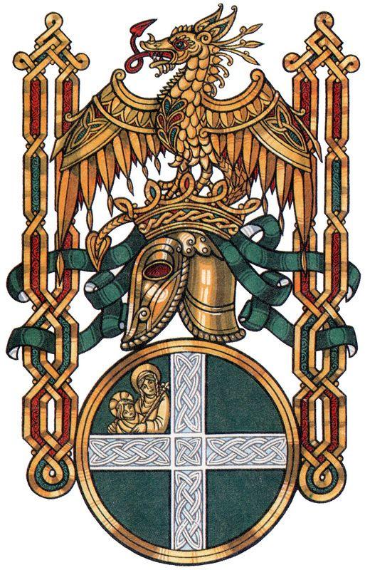 Stiles Family Crest Coat Arms