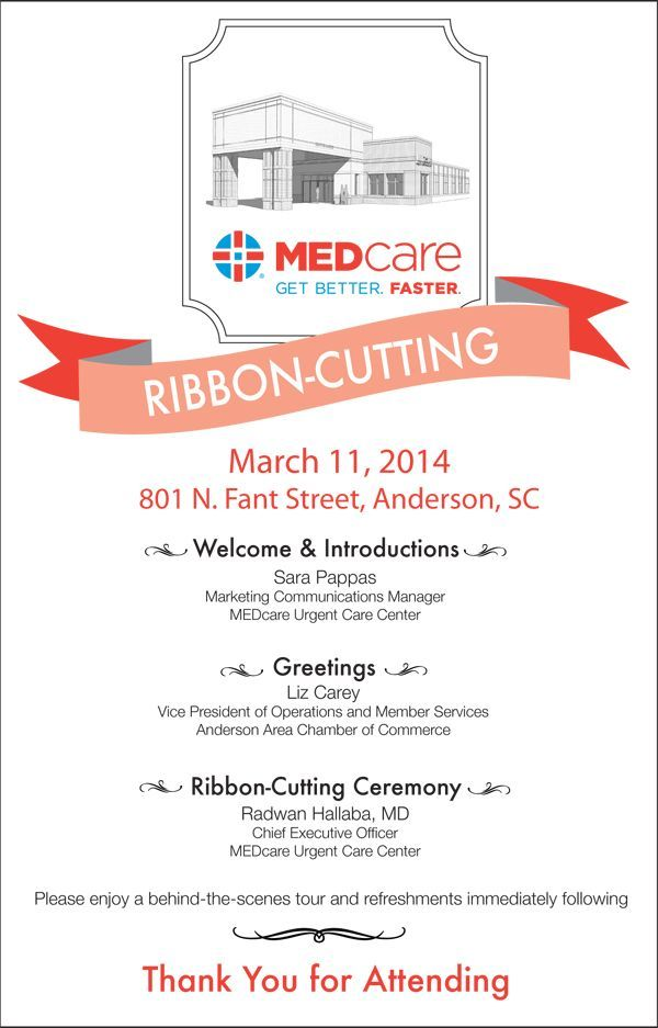 Ribbon Cutting Invitation Wording