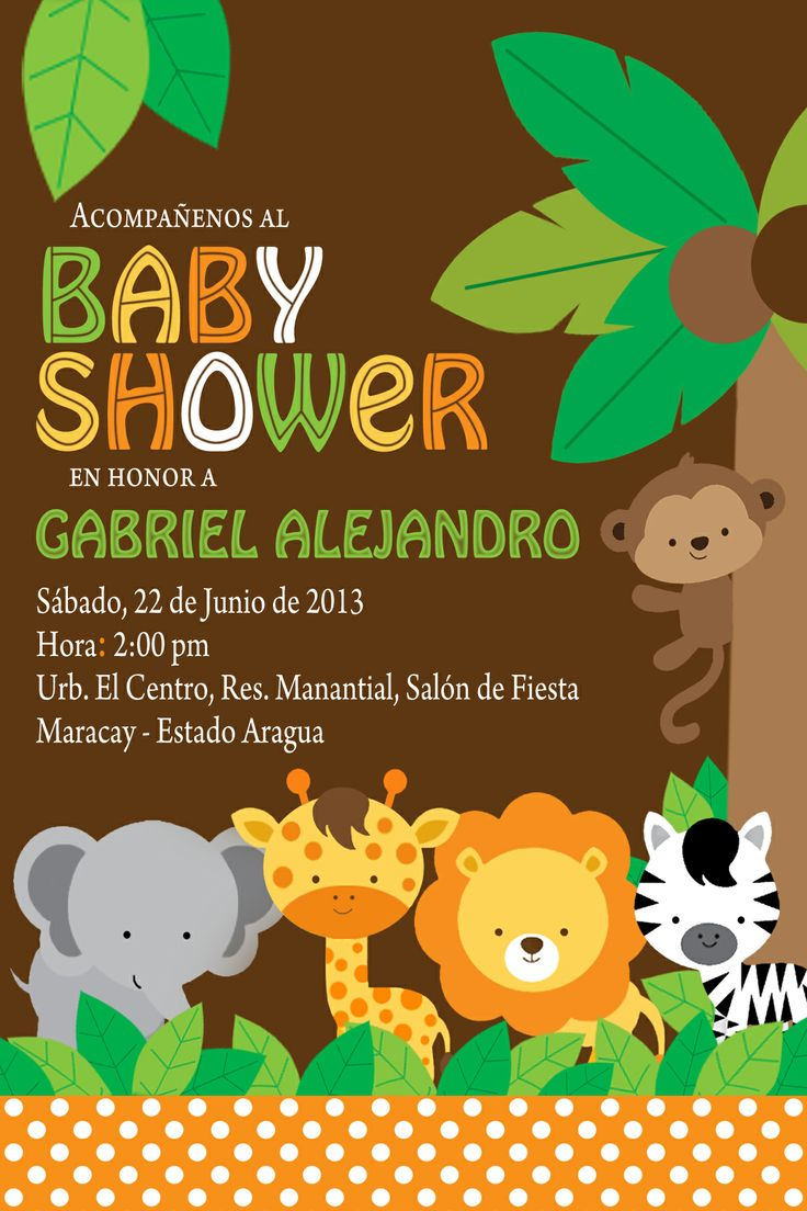 Customized Baby Shower Invitation Cards