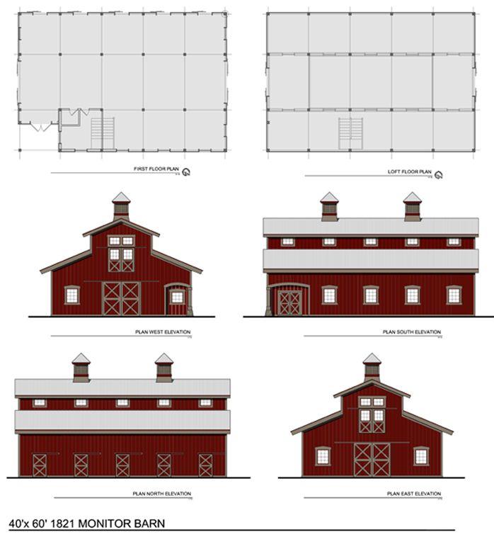 Barn Shaped House Plans