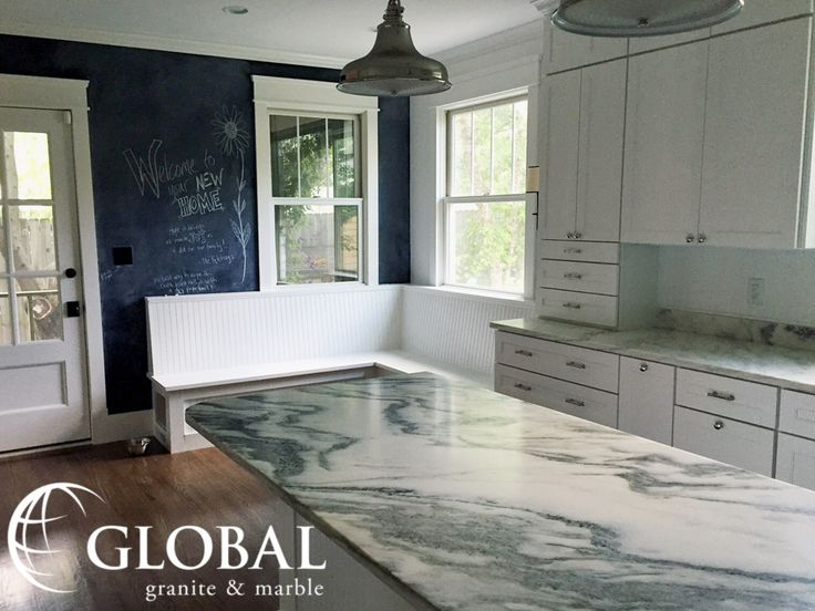 Arabescato Montclair Danby Marble Counters With White