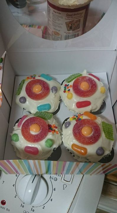 Animal Cell Cake Project Labels