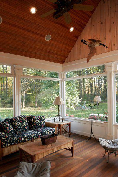 Screened Porch Flooring Ideas