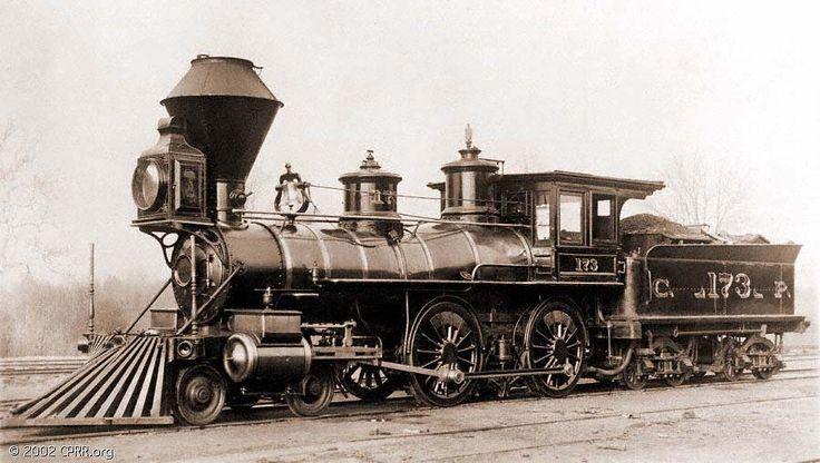 19th Century 4 4 0 Locomotive
