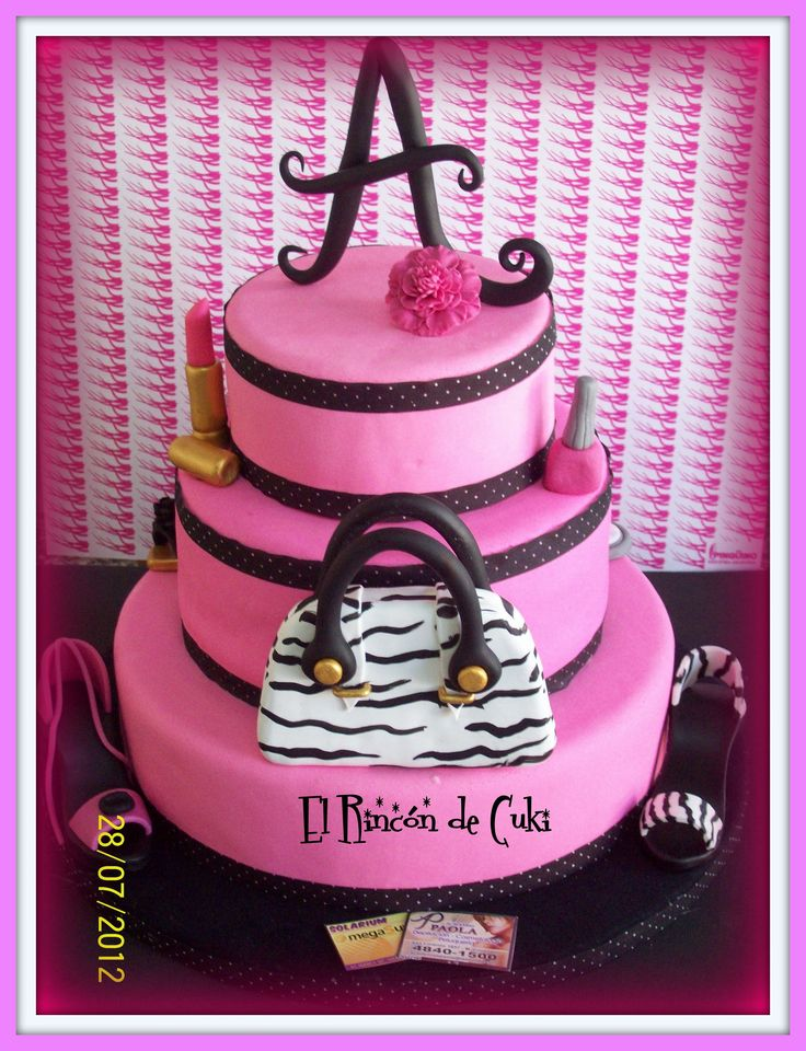 15th Happy Birthday Giraffe Cake