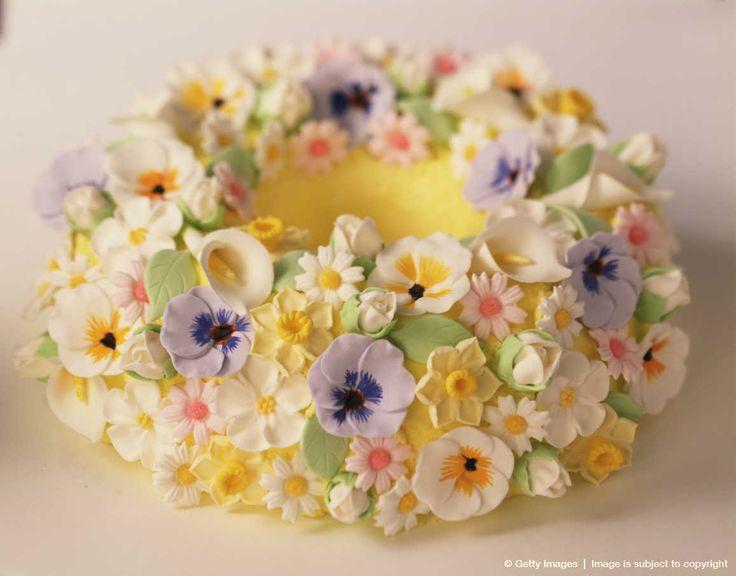 Easter Bundt Cake Decorations