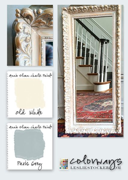 Vintage Shabby Chic Color Palette