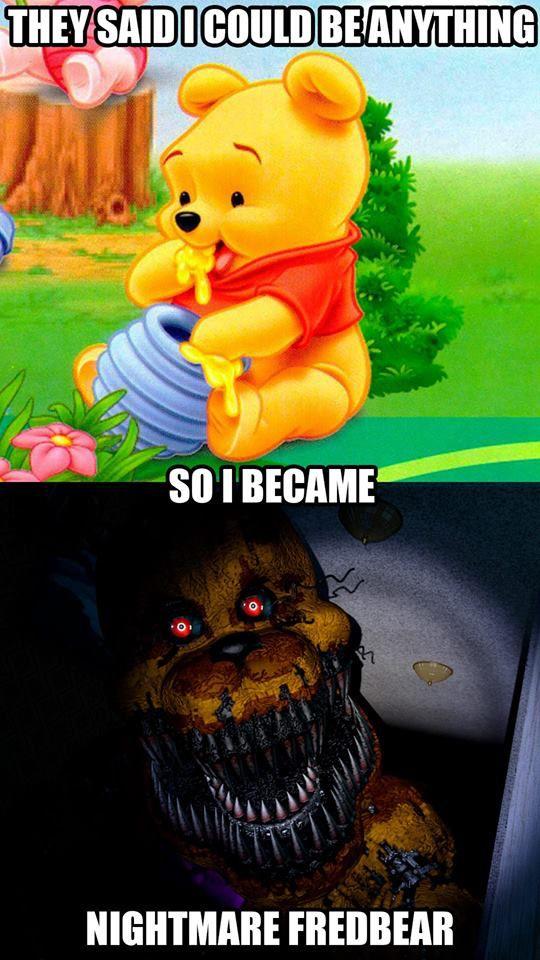 F Naf Nightmare Freddy Voice