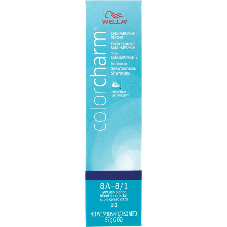 Chart Wella Hair Charm Color Color
