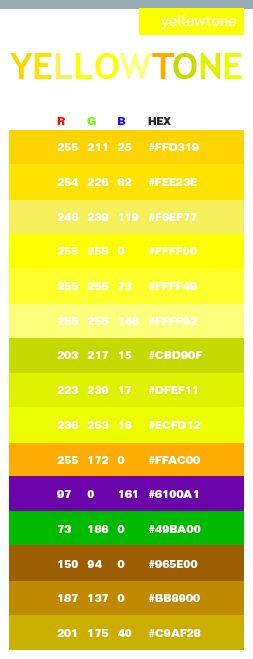 Color Rgb Orange Code Bright