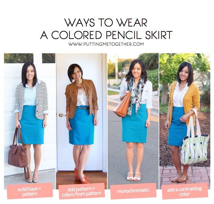 Joe Belt Pencil Skirt B