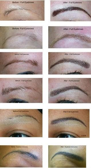 1000+ images about Eyebrow Feathering Hairstroke on ...