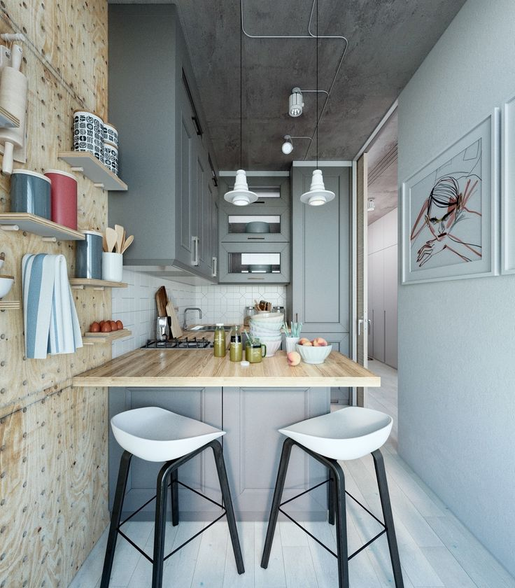 Kitchen Interior Design Small Apartments