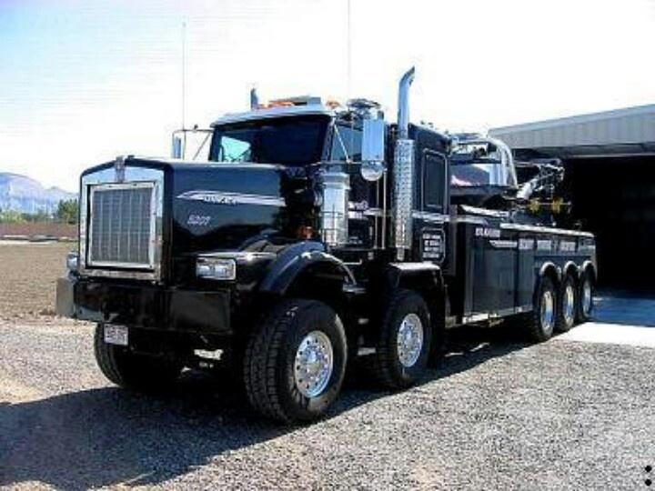 Large Tow Rotator Truck