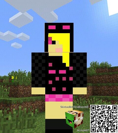 Blue Minecraft Skin Princess