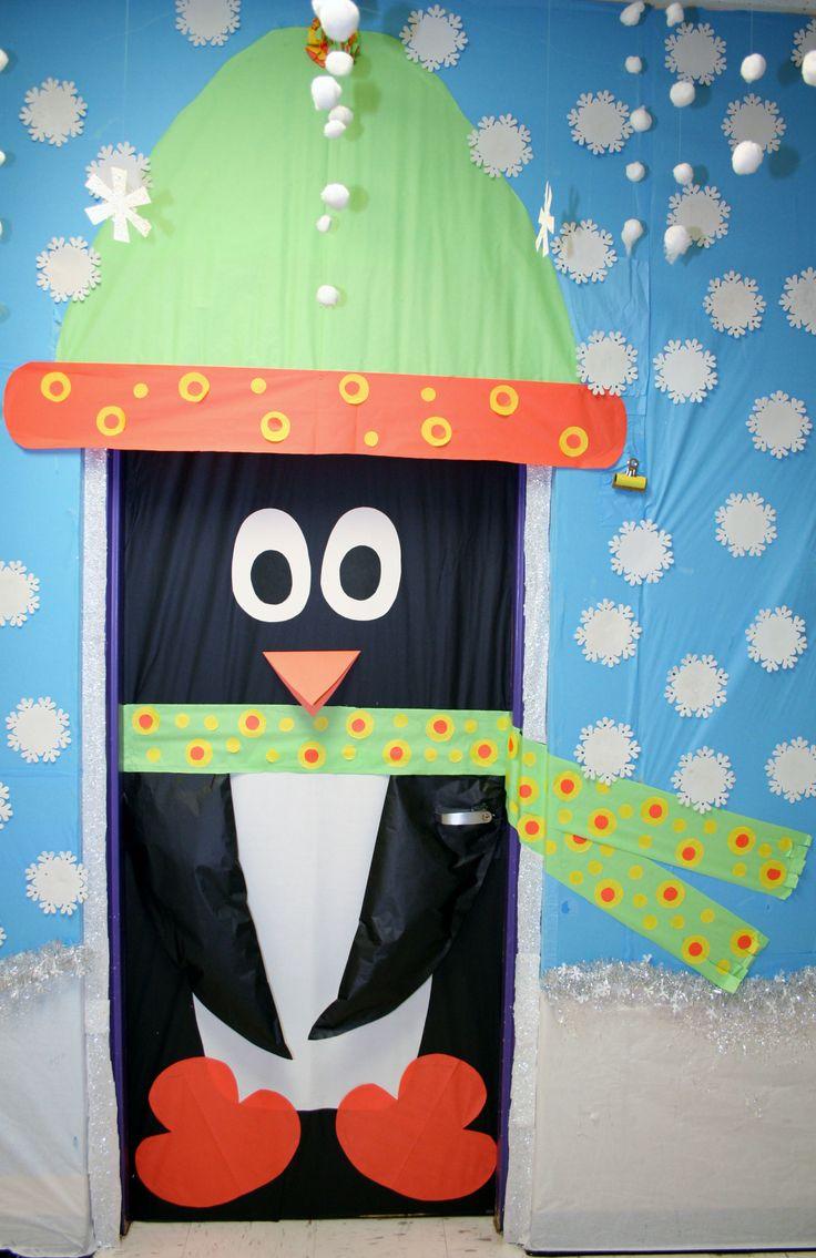Classroom Penguin Door Decoration Bulletin Board Ideas