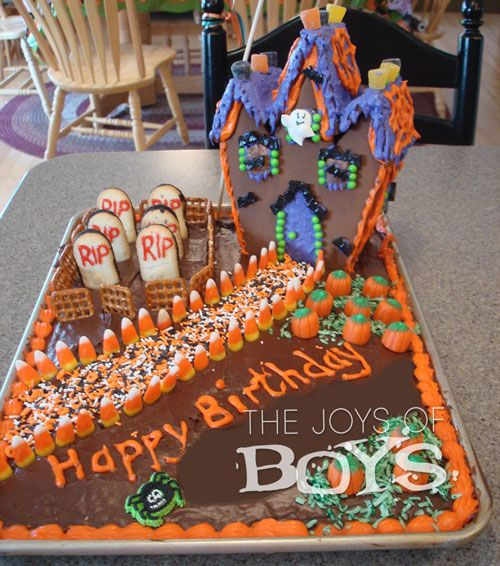 Cupcakes Haunted Made House